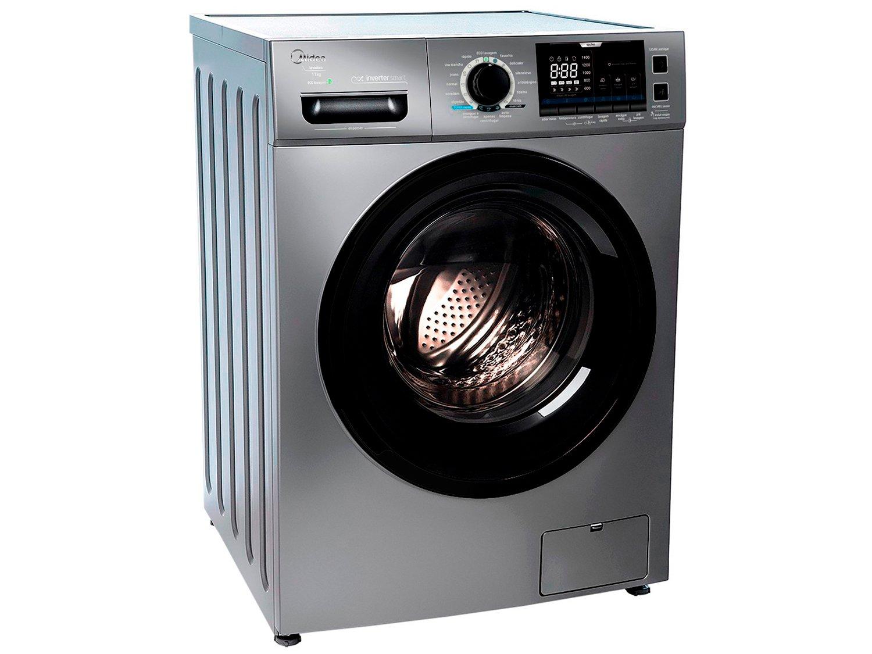 Lavadora de Roupas Midea Storm Wash LFA11X1 - Inverter 11kg Cesto Inox 16 Programas de Lavagem - 110 V - 3