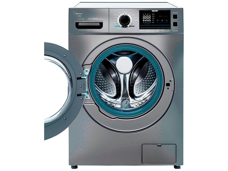 Lavadora de Roupas Midea Storm Wash LFA11X1 - Inverter 11kg Cesto Inox 16 Programas de Lavagem - 110 V - 4