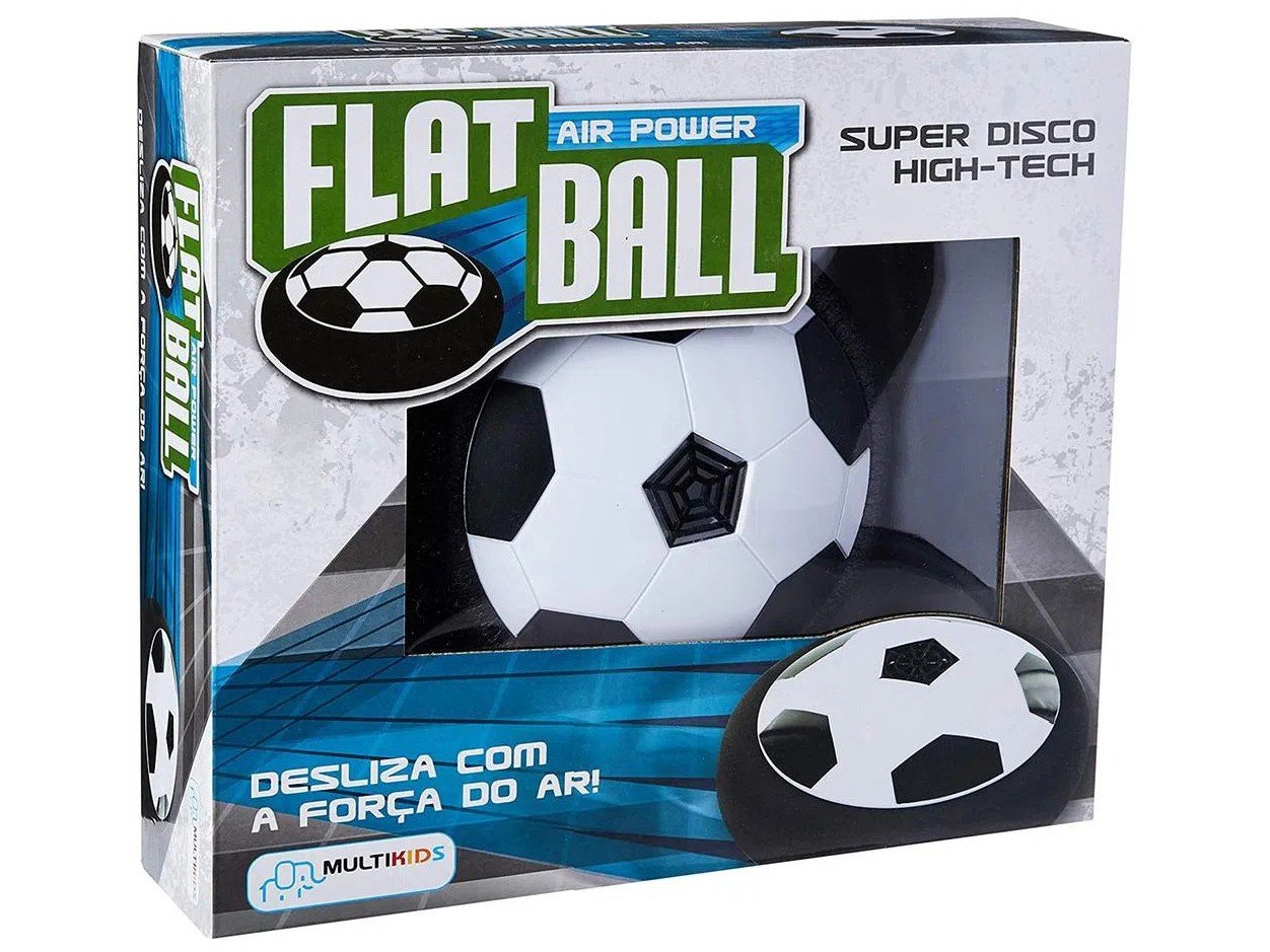 Flat Ball Multikids Air Power Preto e Branco - 15