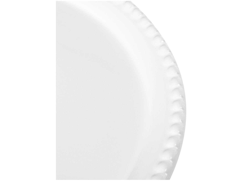 Prato para Bolo de Cerâmica Scalla Redonda Bolinha - 32,5cm - 2