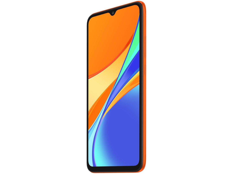 "Smartphone Xiaomi Redmi 9C 64GB Laranja 4G Octa - Core 3GB 6,53"" Câm. Tripla + Selfie 5MP Dual Chip - Bivolt - 4"