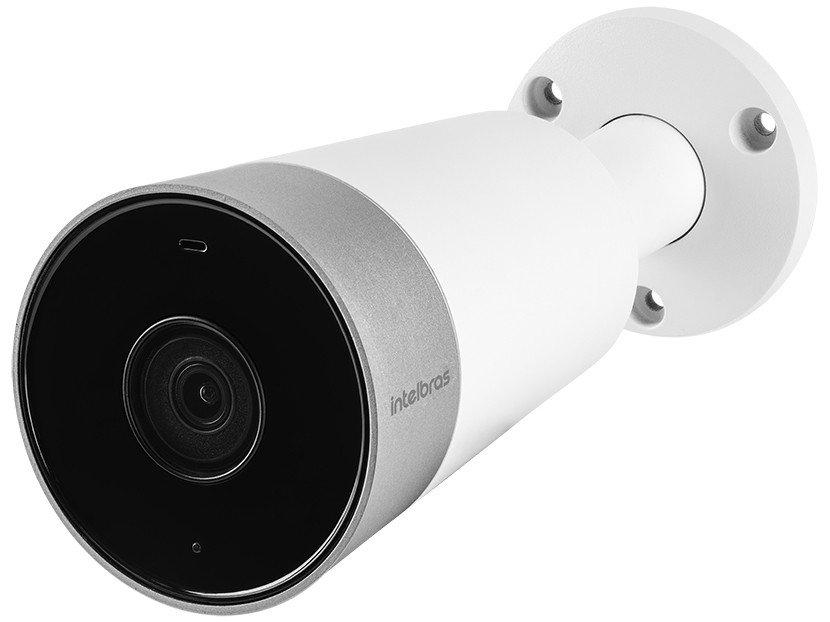 Câmera de Segurança Intelbras Wi-Fi Bullet Full HD - Interna e Externa Visão Noturna Mibo Cam iM5