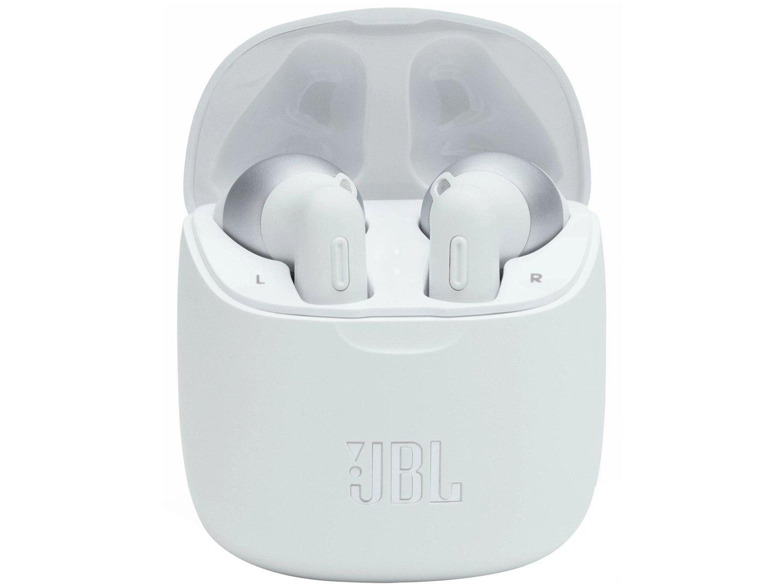 Fones de Ouvido Bluetooth JBL Tune 225TWS - Branco - 5