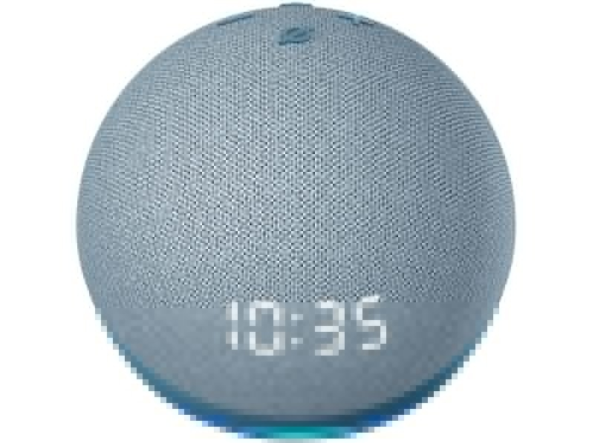 Smart Speaker Amazon Echo Dot 4ª Geração com Relógio e Alexa – Branco - 7