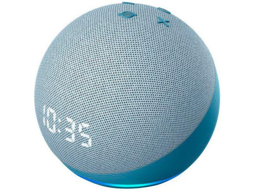Smart Speaker Amazon Echo Dot 4ª Geração com Relógio e Alexa – Branco - 8