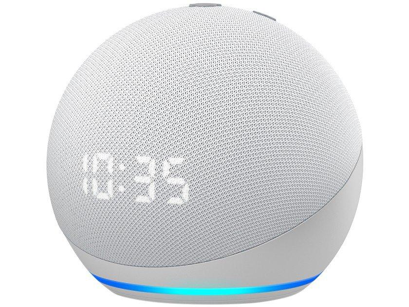 Smart Speaker Amazon Echo Dot 4ª Geração com Relógio e Alexa – Azul - 1