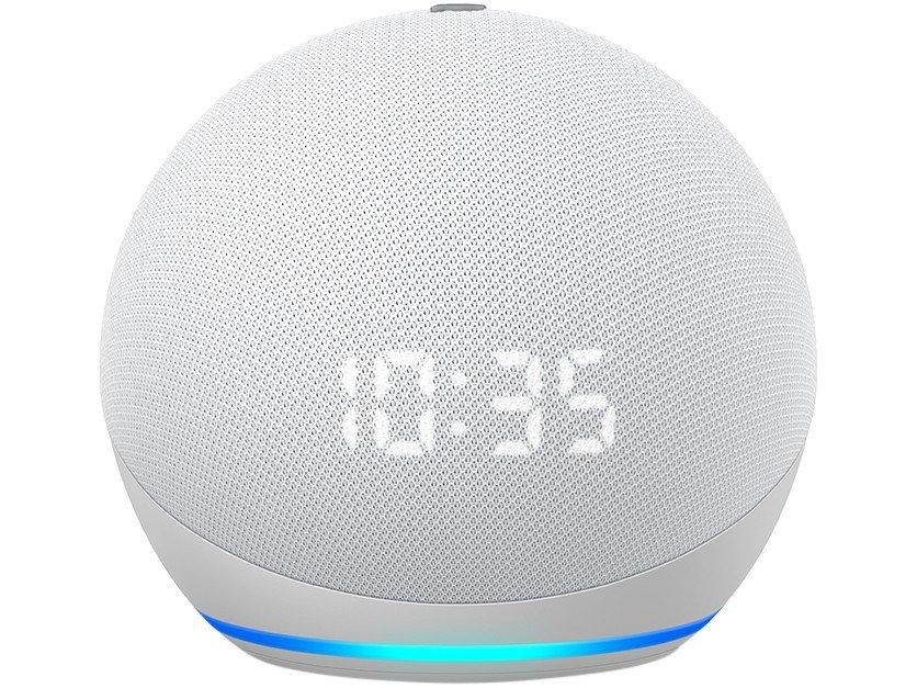 Smart Speaker Amazon Echo Dot 4ª Geração com Relógio e Alexa – Azul - 7