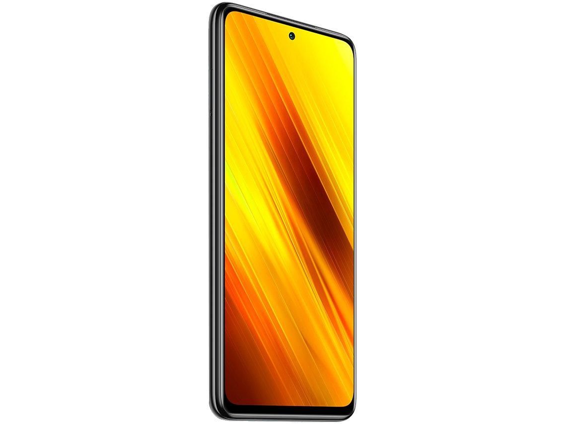 "Smartphone Xiaomi Poco X3 NFC 128GB Cinza - 6GB RAM Tela 6,67"" Câm. Quádrupla + Selfie 20MP - Bivolt - 3"