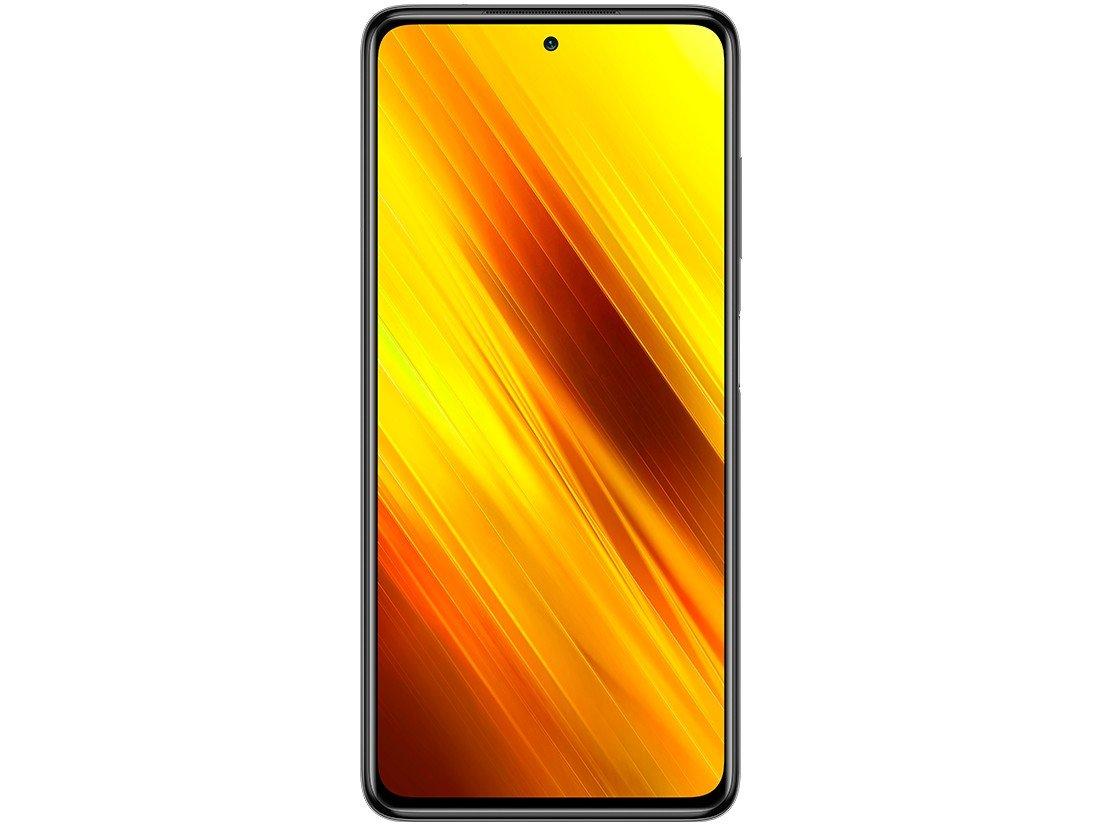 "Smartphone Xiaomi Poco X3 NFC 128GB Cinza - 6GB RAM Tela 6,67"" Câm. Quádrupla + Selfie 20MP - Bivolt - 4"