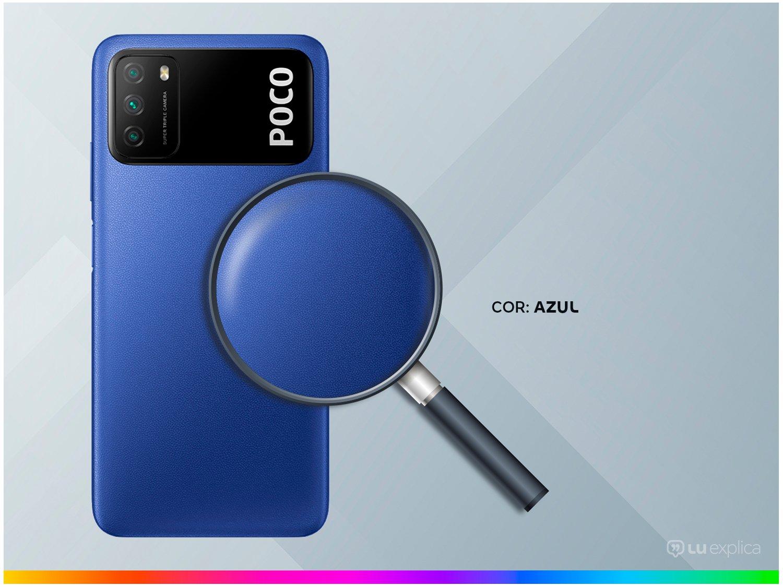 "Smartphone Xiaomi Poco M3 128GB Azul 4G+ 4GB RAM - Octa-Core Tela 6,53"" Câm. Tripla + Selfie 8MP - Bivolt - 2"