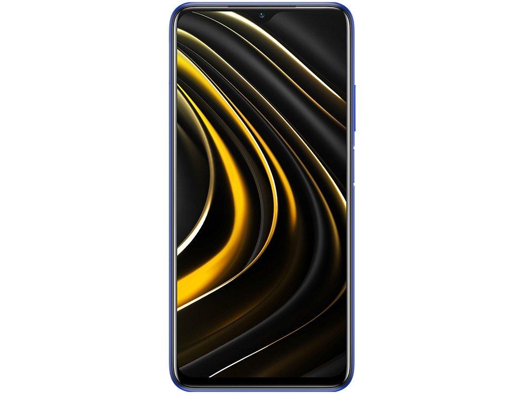 "Smartphone Xiaomi Poco M3 128GB Azul 4G+ 4GB RAM - Octa-Core Tela 6,53"" Câm. Tripla + Selfie 8MP - Bivolt - 3"