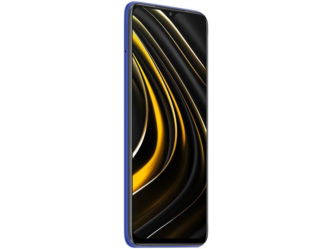 "Smartphone Xiaomi Poco M3 128GB Azul 4G+ 4GB RAM - Octa-Core Tela 6,53"" Câm. Tripla + Selfie 8MP - Bivolt - 4"