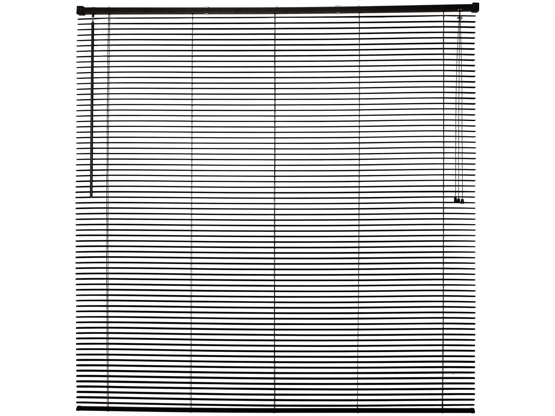 Persiana Evolux em PVC 160x120 cm - Preta - 1