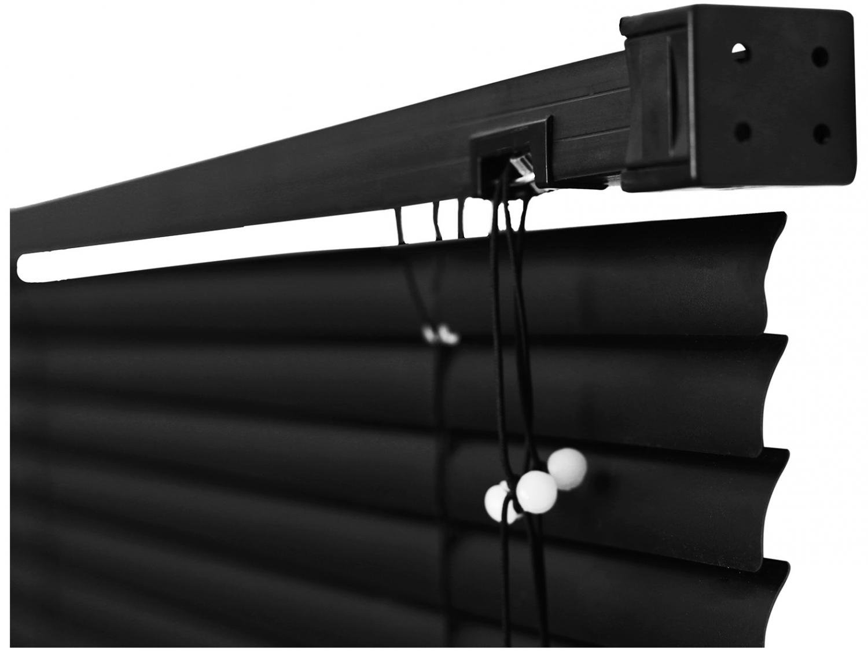 Persiana Evolux em PVC 160x120 cm - Preta - 8