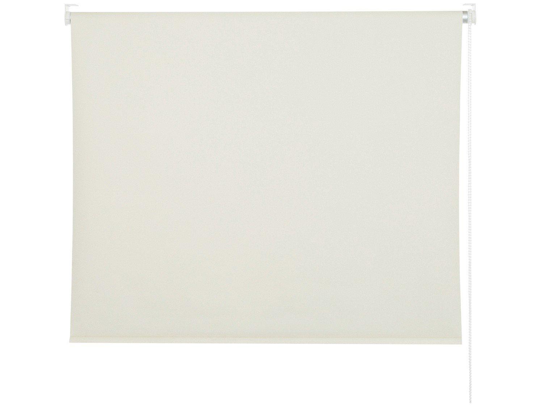 Persiana Evolux Rolo Blackout 160x140 cm - Creme - 1