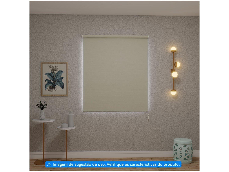 Persiana Evolux Rolo Blackout 160x140 cm - Creme - 3
