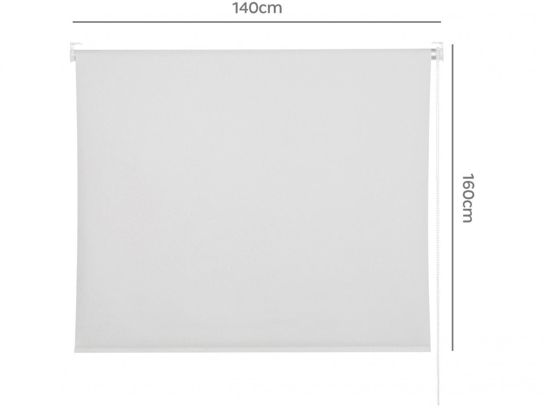 Persiana Evolux Rolo Blackout 160x140 cm - Branco - 6