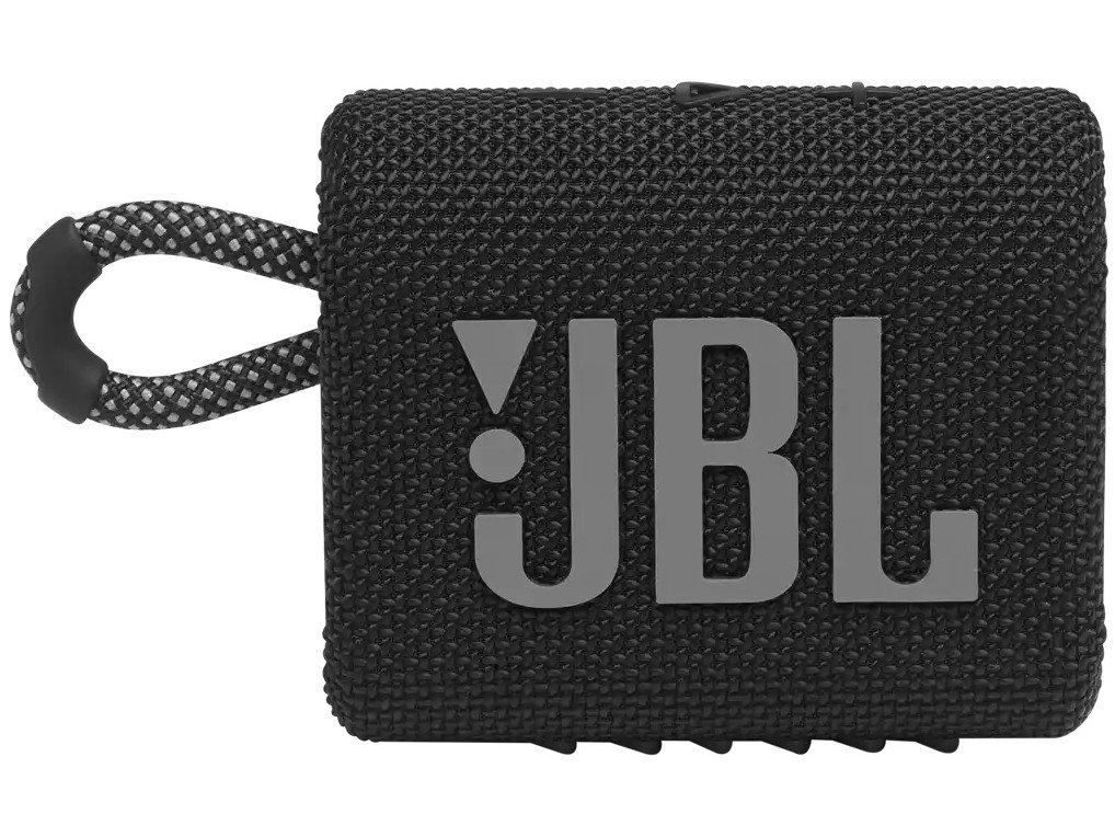 Caixa de Som Portátil JBL Go 3 com Bluetooth e À Prova de Poeira e Água – Preto - 7