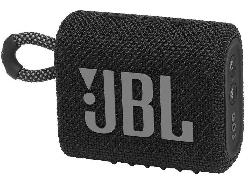 Caixa de Som Portátil JBL Go 3 com Bluetooth e À Prova de Poeira e Água – Preto - 8