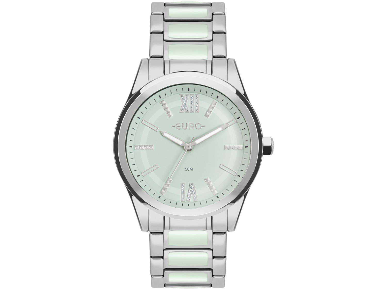 Relógio Feminino Analógico Euro Sporty Lux - EU2036YQN/K3 Prata com Acessório - 2