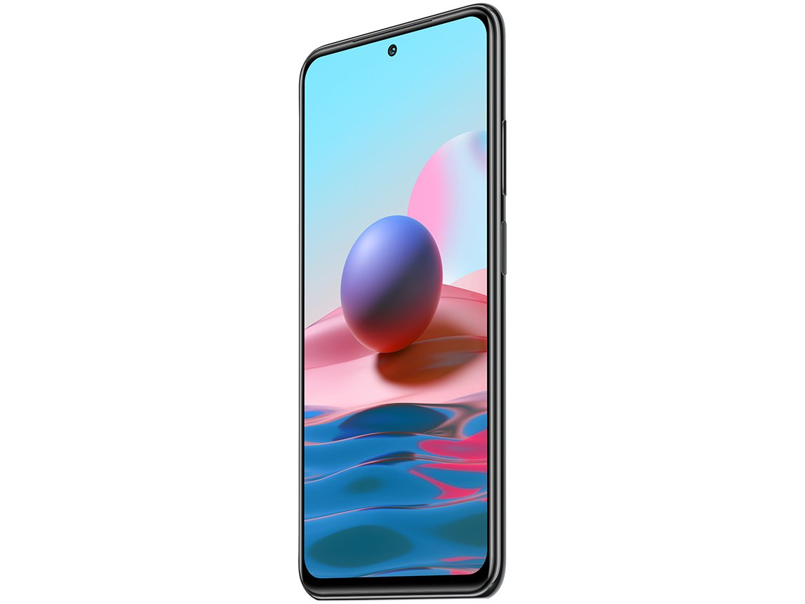 """Smartphone Xiaomi Redmi Note 10 Cinza 64GB, 4GB RAM, Tela de 6.43"""", Câmera Traseira Quádrupla, Android 11 e Processador Octa Core - 7"""