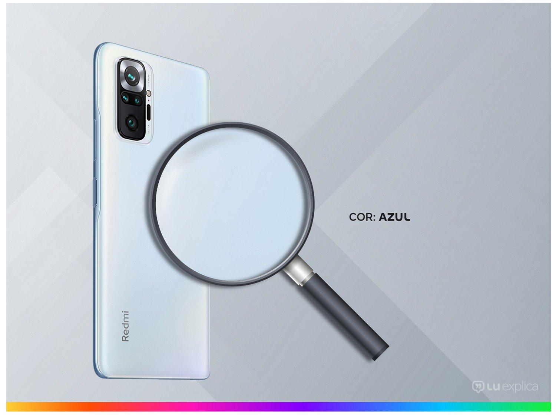 "Smartphone Xiaomi Redmi Note 10 Pro 128GB Azul 4G+ - 6GB RAM Tela 6,67"" Câm. Quádrupla + Selfie 16MP - Bivolt - 2"