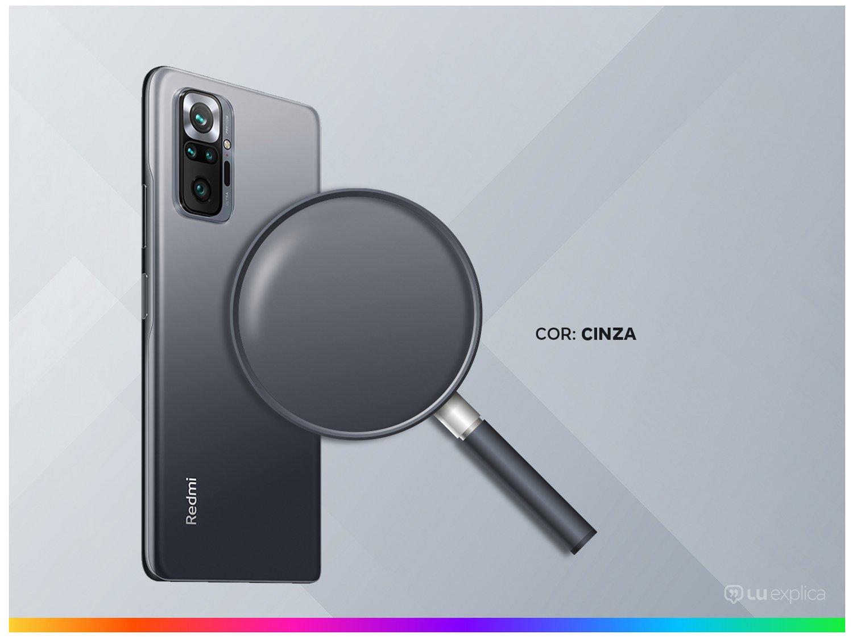 """Smartphone Xiaomi Redmi Note 10 Pro 128GB Cinza - 4G+ 6GB RAM 6,67"""" Câm. Quádrupla + Selfie 16MP - Bivolt - 2"""