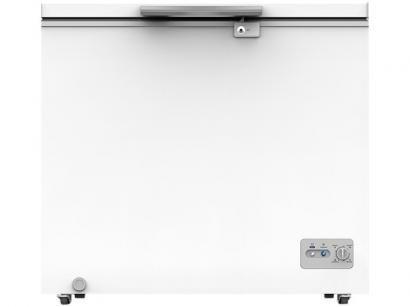 Freezer Industrial Horizontal Midea 1 Porta 202L - RCFA21