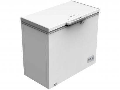 Freezer Industrial Horizontal Inox Midea 1 Porta - 202L RCFA22
