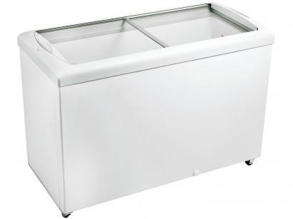 Freezer Horizontal Tampa de Vidro Metalfrio - 336L HF40SB