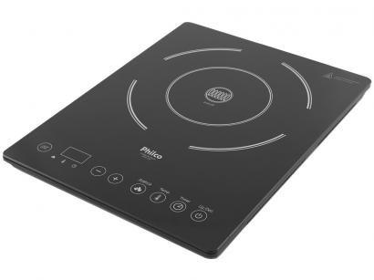 Cooktop 1 Boca Philco Indução Vitrocerâmico Preto - Smart Chef PCT01