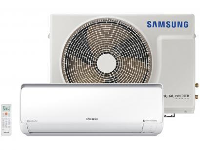 Ar-condicionado Split Samsung Inverter 9.000 BTUs - Quente/Frio Filtro Full HD...