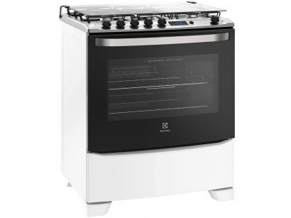 Fogão 5 Bocas Electrolux 76RBS Tripla-Chama - Timer Acendimento Automático...