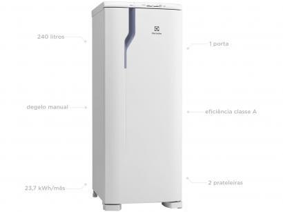Geladeira/Refrigerador Electrolux 240L RE31 - Branco
