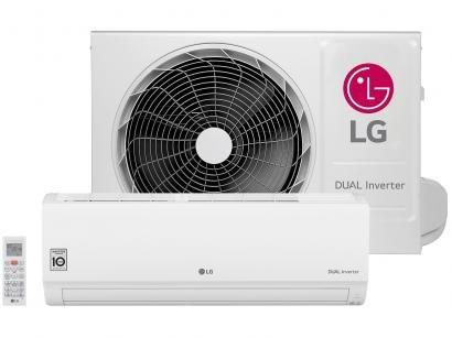 Ar-condicionado Split LG 9.000 BTUs Quente/Frio - Dual Inverter Voice...
