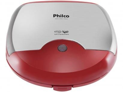 Grill Philco Mini Inox Retangular - 750W