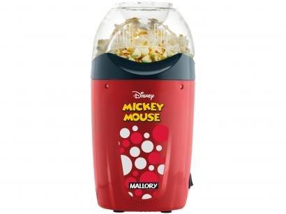 Pipoqueira Mallory Cozinha Mickey Mouse - Vermelha