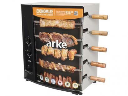 Churrasqueira à Gás GLP Arke AGR-05 - com 5 Espetos