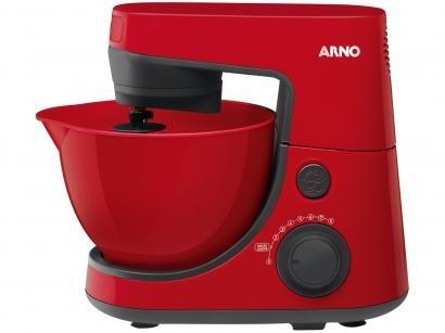 Batedeira Planetária Arno Vermelha 600W Daily - 8 Velocidades