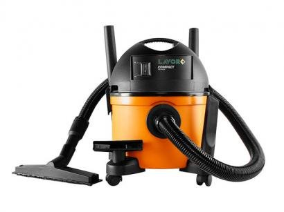 Aspirador de Pó e Água Portátil Lavor 1250W - Compact 110