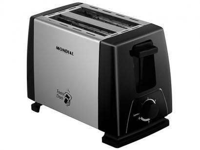 Torradeira 6 Níveis de Tostagem - Mondial Toast Duo NT-01