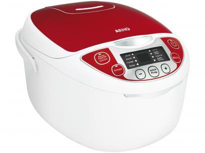 Panela de Vapor Elétrica Arno Multicooker 840W - 5L Timer Display Controle de...