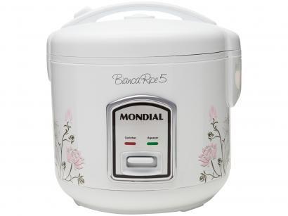 Panela Elétrica de Arroz Mondial Bianca Rice 5 - NPE-05-5X 400W 5 Xícaras