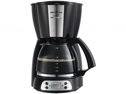 Cafeteira Elétrica Britânia CP38 Preta - 38 Xícaras