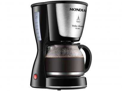 Cafeteira Elétrica Mondial Dolce Arome C-32 32X - Preta 32 Xícaras