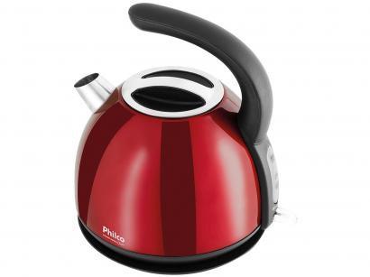 Chaleira Elétrica Britânia Cozinha Classic PHC20V - Vermelha 1,7L