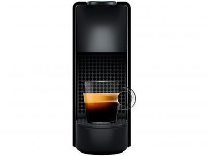 Cafeteira Expresso 19Bar Nespresso Essenza Mini - Preto com 14 Cápsulas