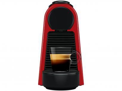 Cafeteira Expresso 19Bar Nespresso Essenza Mini - Vermelho com 14 Cápsulas