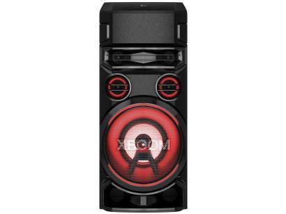 Caixa Acústica LG XBOOM RN7 Multi Bluetooth - Super Graves Entrada de Microfone e Guitarra