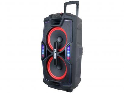 Caixa de Som Amvox Aca 850 Festa Bluetooth - Amplificada 850W USB com Tweeter